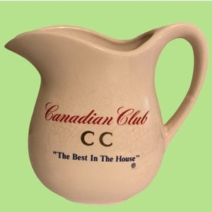 Canadian Club Whiskey Cramer/jug/pitcher